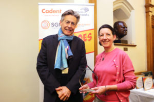 Exeter MP Ben Bradshaw and 'Heat Hero' and ECOE chair, Tara Bowers