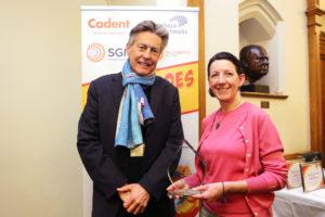 Exeter MP Ben Bradshaw and 'Heat Hero' and ECOE chair, Tara Bowers
