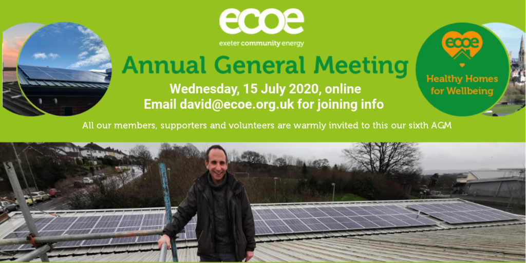 Join us for our AGM on July 15!