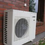 Heat pumps have outdoor units that look like this. Image credit: Ppntori via Wikimedia commons